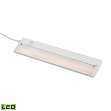 ELK Lighting LV018RSF - ZeeLED Pro 1-Light Utility Light in White with Diffused Glass - Integrated LED