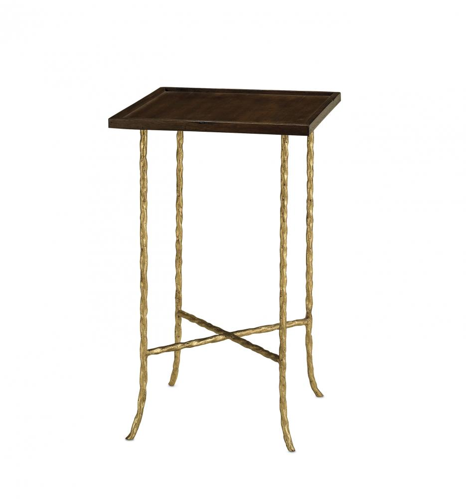 Gilt Twist Accent Table