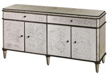 Currey 4208 - Antique Mirror Credenza